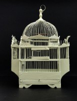 Le roi, restored wooden cage, 2011